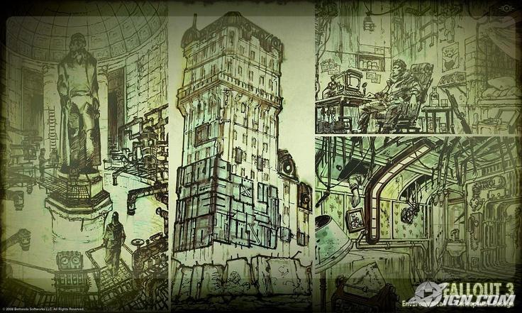 Fallout 3: buildings