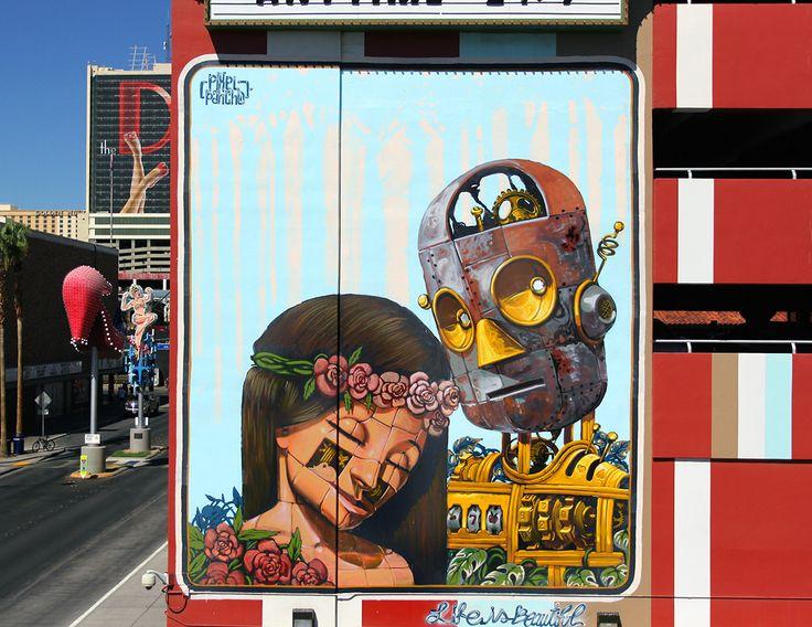 Imagination-fueled street art takes over Old Las Vegas