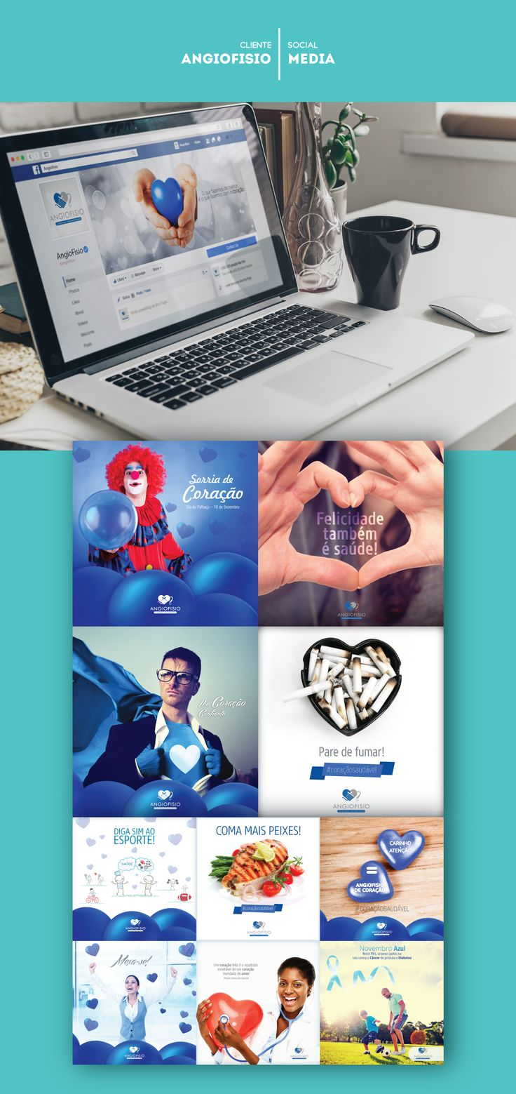 Social Media - Angiofisio. on Behance