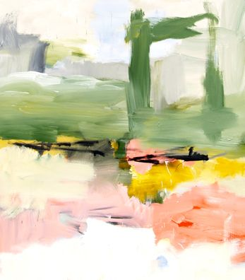 Luc Leestemakers abstract landscapes at Madison Gallery, La Jolla,CA