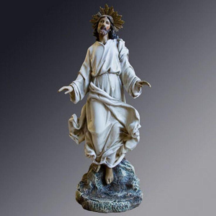 767 best catholic gifts online images on pinterest catholic risen christ jesus statue figurine resurrection joseph studio negle Gallery