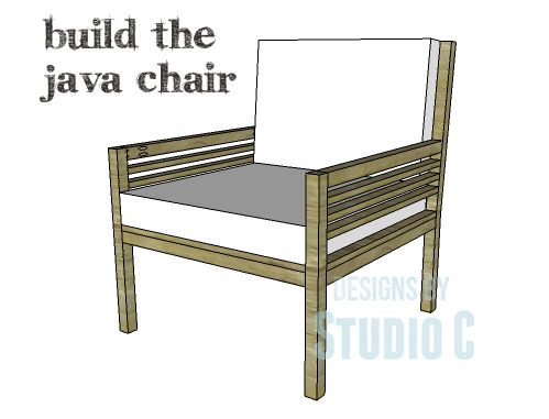 DIY Plans To Build The Java Chair I Love Designing And Building Chairs This Is Probably One Of My Favorites Featuring Arms Arm Slats