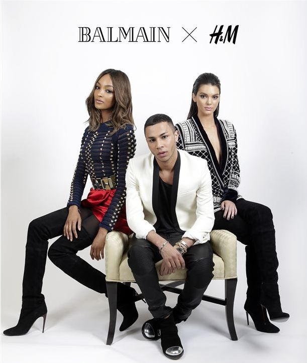 Balmain and H&M call for #HMBalmaination  H&M is proud to announce its autumn guest collaboration with the Parisian house of Balmain. A veritable bastion of French luxury, under the creative directorship of young Olivier Rousteing, Balmain has grown into a global pop-culture phenomenon. Available from November 5, in around 250 stores worldwide and online, the collection will feature clothing and accessories for both women and men.