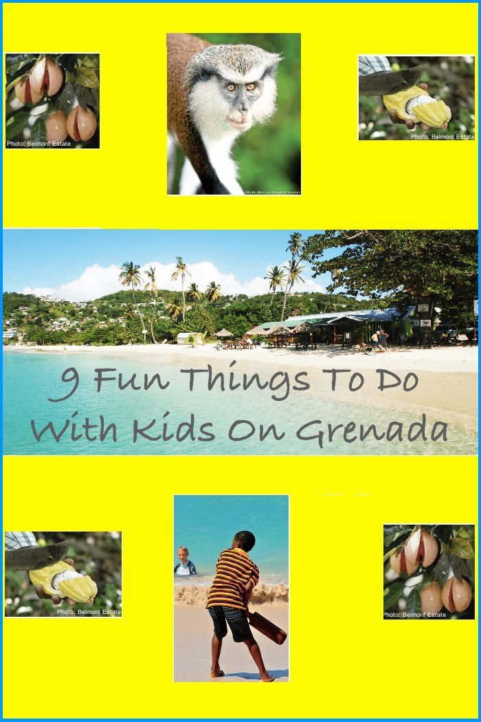 The Caribbean Island of Grenada has gorgeous beaches for a vacation with kids. But it also offers plenty of things to do and opportunities to explore West Indian culture, food, and history. Learn why this is one of the Spice Islands on your next family vacation. #Grenada #kids #vacation