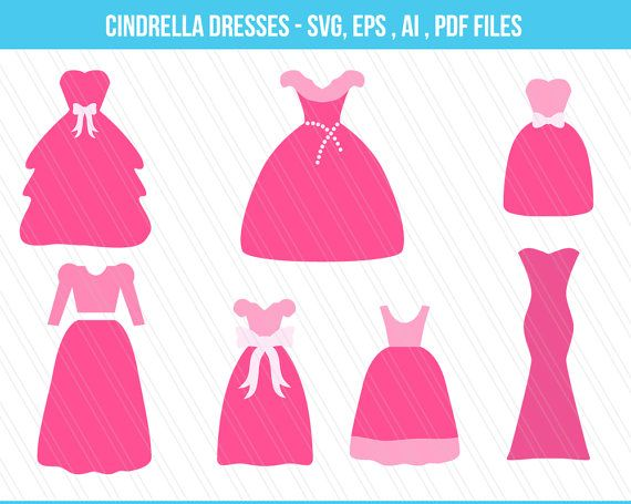 Check out this item in my Etsy shop https://www.etsy.com/uk/listing/467877296/cindrella-dresses-svg-cutting-files