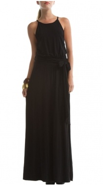 Luna Dress, Black: Wedding