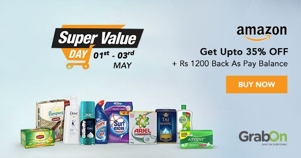 Start the month on a saving note with the #Amazon Super Value Day Offer.   #offers #discount #india #mondaymotivation #coupons #onlineshopping #saving #cashback