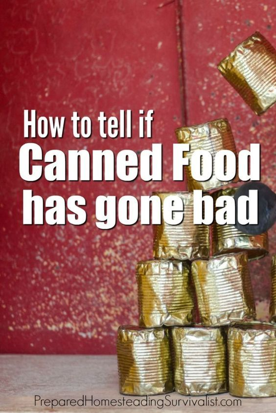 How to tell is canned food has gone bad. With the huge debate about expiration dates, it's hard to tell if they are valid or not. The FDA only requires expiration dates on certain foods | Prepared Homesteading Survivalist