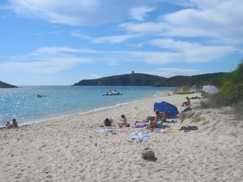 Snta Margherita beach