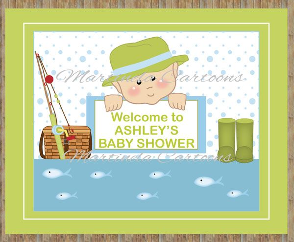 Fishing baby shower invitation by eventfulcards on etsy for Fishing baby shower
