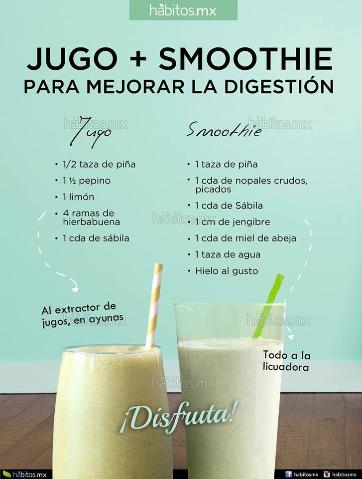 Hábitos Health Coaching | JUGO + SMOOTHIE