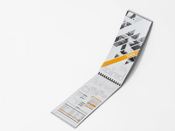 Flatred Catalogue Bag On Behance Brochure
