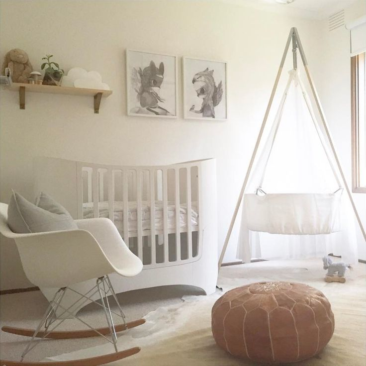 Looking For Inspiration For Your Babyu0027s Room This Stunning Neutral Nursery  Is Simple Yet Elegant ✍ Featuring: Leander Cradle + Tripod And Leander Cot  ...