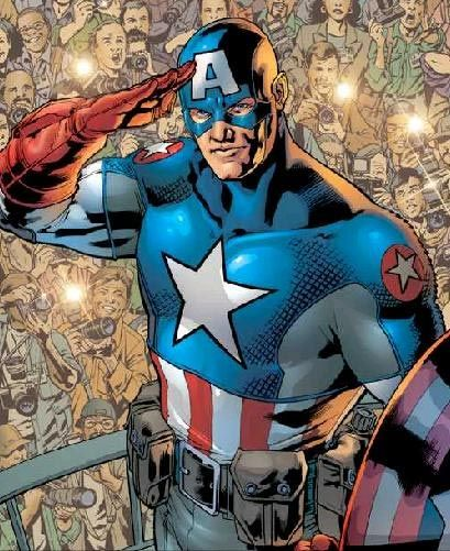 captain america comic book photos | ... superhero that appears in comic books published by Marvel Comics
