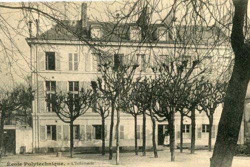 Carte-Postale-PARIS-Ecole-Polytechnique-L-039-Infirmerie
