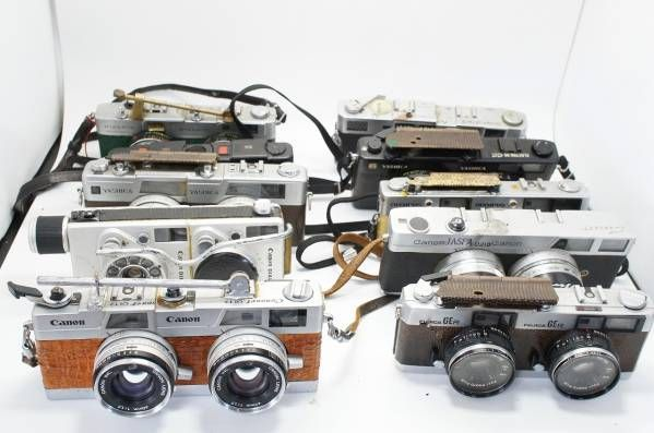 62★ ステレオカメラ 改造 結合 合体 マニア コレクション レア_画像1