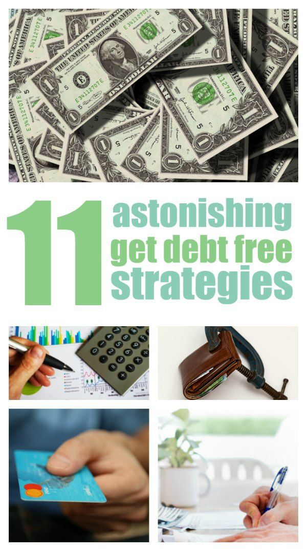 Debt free strategies you have to try! The best collection - EVER!