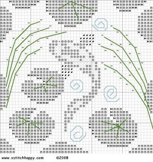 Cross Stitch Happy: Another Day, Another Chart - Koi Pond