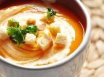 Recette Soupe vitaminée à la carotte, courge & orange