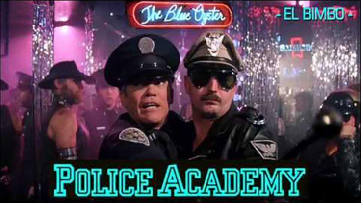 "Police Academy - 'Blue Oyster' Bar Music (Jean-Marc Dompierre ""El Bimbo"" )"