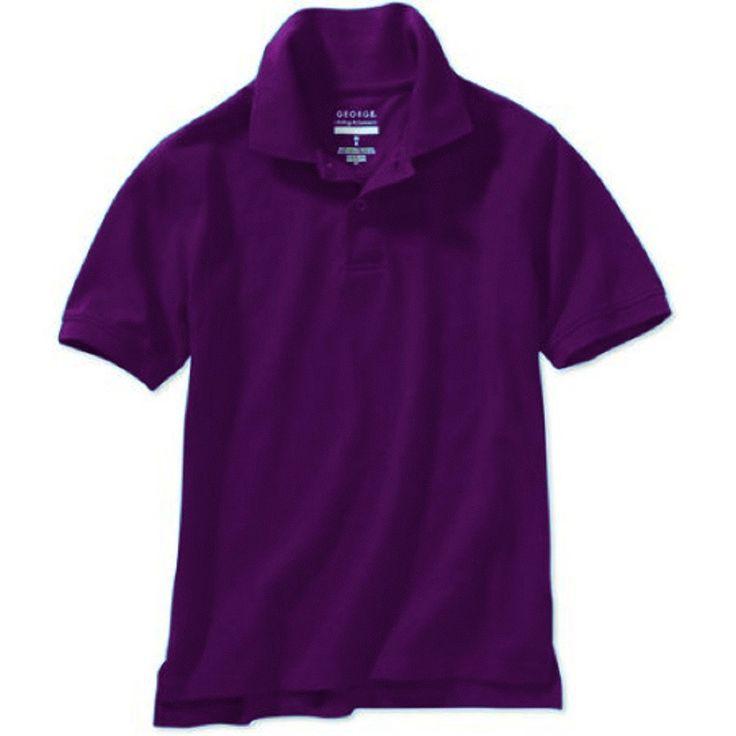 17 best ideas about boys school uniforms on pinterest for Purple polo uniform shirts