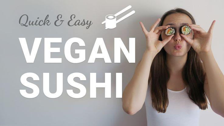 Easy vegan Sushi Tutorial