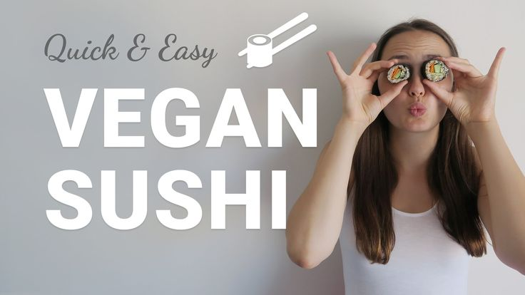 Easy vegan Sushi Tutorial