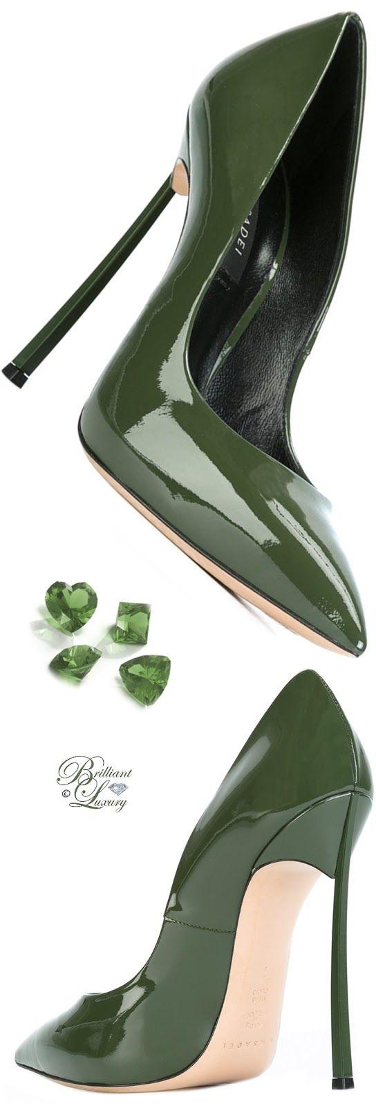 Brilliant Luxury ♦ Casadei Stiletto Heel Pumps