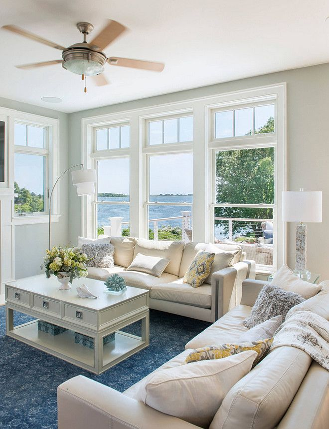 Living Room With The Paint Color Is C 2 Brand 992 Seraph Caldwell