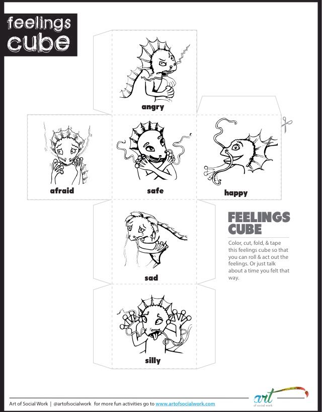 Mindfulness and feelings Printables! | Feelings, Art and Children