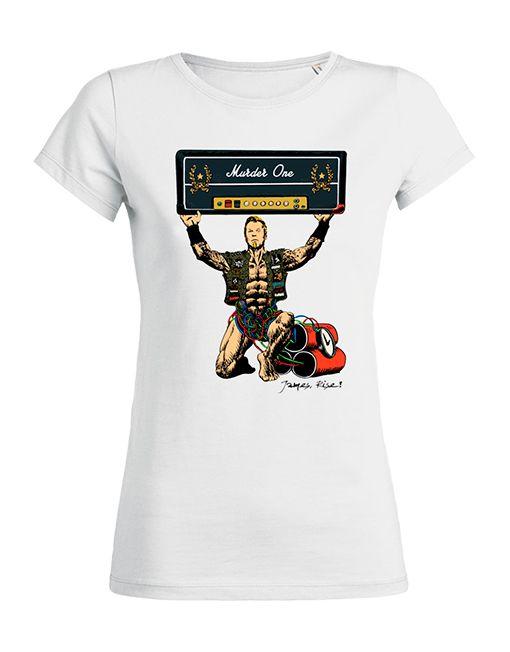 T Shirt Metallica HardWired To SelfDestruct Femme/Women