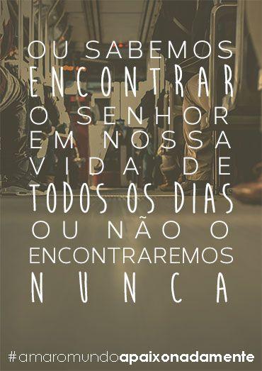 'Amar o mundo apaixonadamente' homilia pronunciada no dia 8 de outubro de 1967. No texto São Josemaria faz um resumo do espírito que difundiu a partir de 1928.
