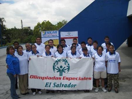 Olimpiadas Especiales El Salvador.