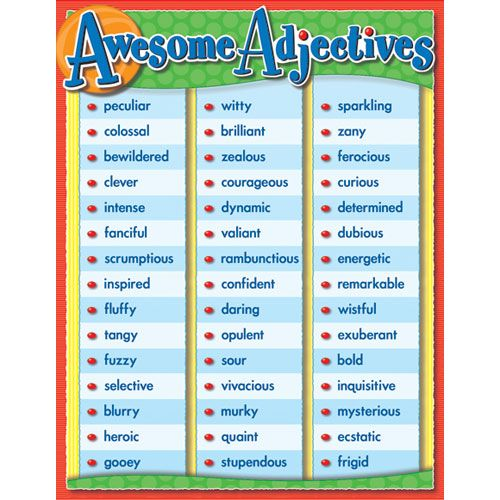 List of Adjectives to describe a person | Learn English Online ...