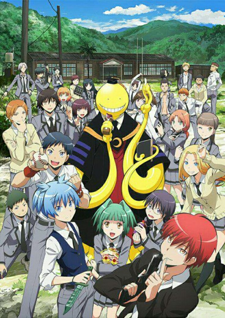 Assassination Classroom Anime, Hài hước và Học