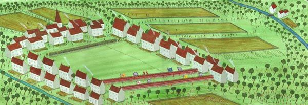 'First Shots at Lexington' Battle of Concord and Lexington 19th April 1775