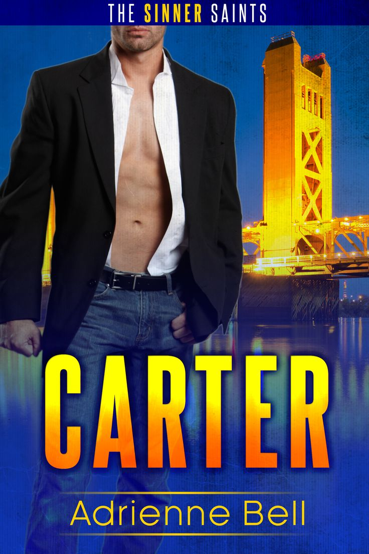 Carter: The Sinner Saints #1 By Adrienne Bell Contemporary Military  Romance Free
