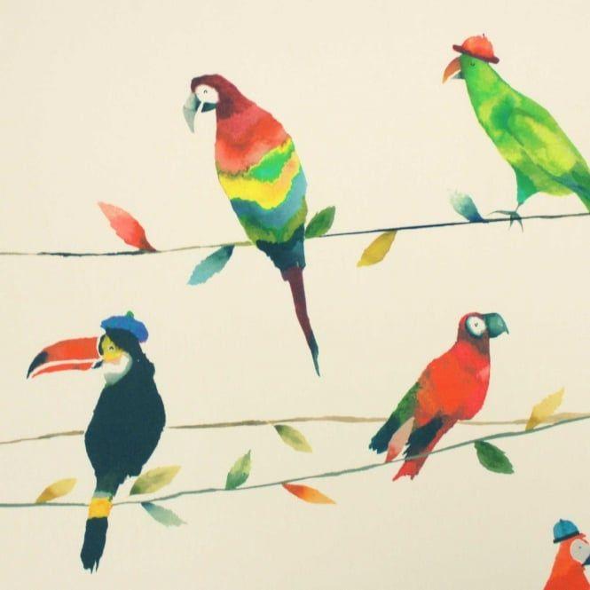 Prestigious Textiles Toucan Talk Paintbox