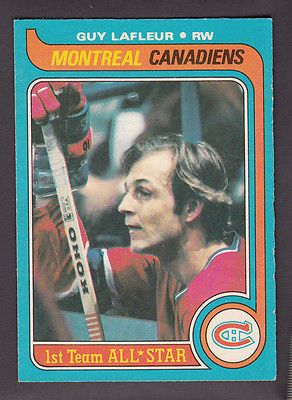 1979 80 O Pee Chee OPC Canadiens Guy Lafleur 200 All Star | eBay