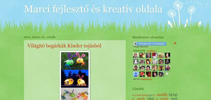 MARCI FEJLESZTŐ ÉS KREATÍV OLDALA - blog - Marci fejlesztő és kreatív oldala