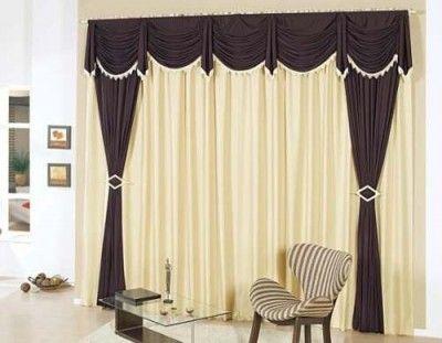 Imagenes de cortinas para salas elegantes cenefas for Cortinas comedor 2016