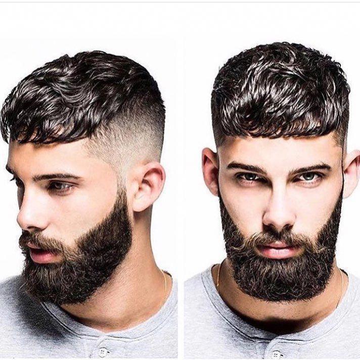 Shorthairstylesformenfade Classic Mens Haircut Mens Hairstyles Beard Hairstyle