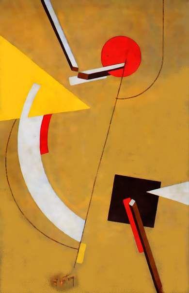 Proun by El Lissitzky   Bauhaus 1919-1932   The Athenaeum