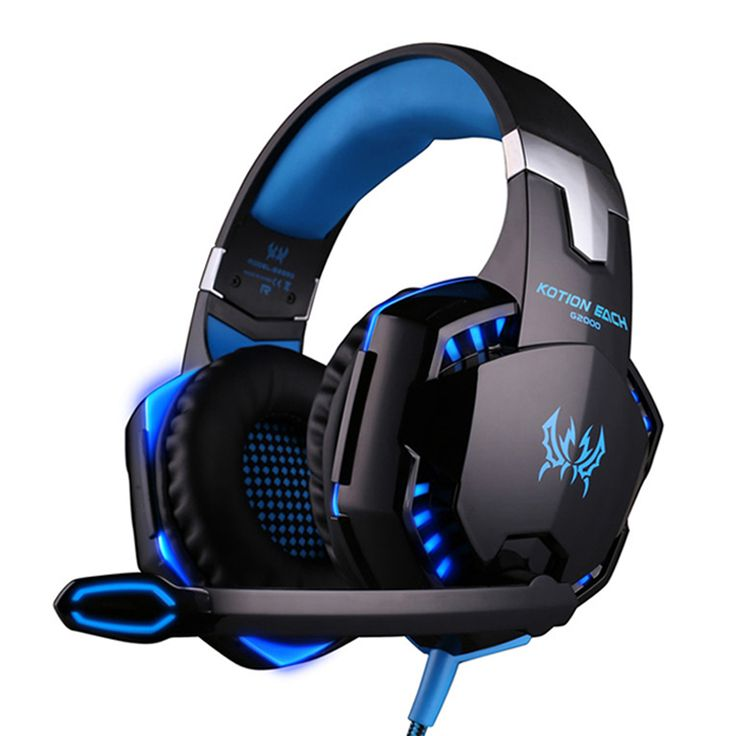 Best casque Computer Stereo Gaming Headphones Deep Bass Game Earphone Headset Gamer with Microphone Mic LED Light for PC Game //Price: $17.45//     #storecharger