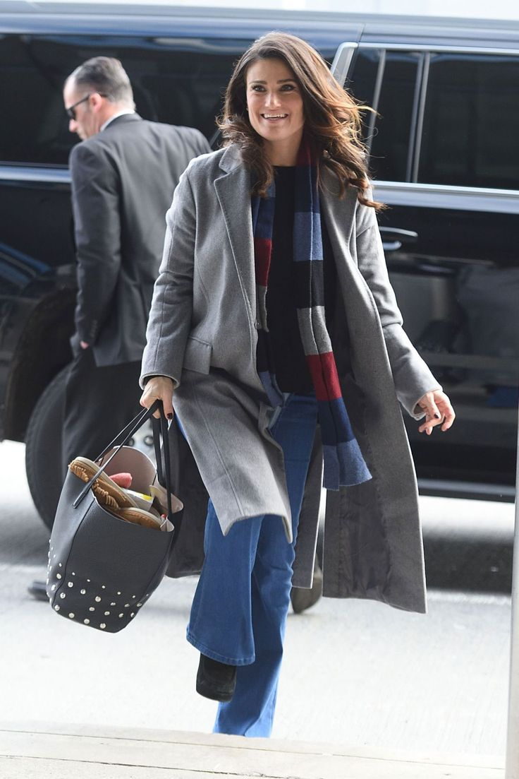 Idina Menzel at Jfk Airport in New York  Read more: http://www.celebskart.com/idina-menzel-jfk-airport-new-york/#ixzz4YfwAgwA8