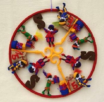 Leuke Sinterklaas Mandala! van Zonnekind popjes.