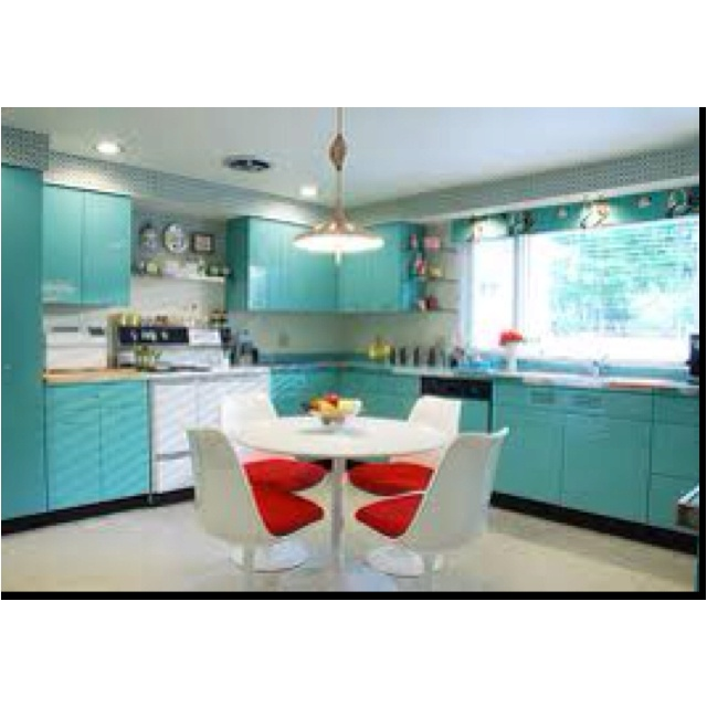 143 Best Images About Retro & Vintage Kitchens On
