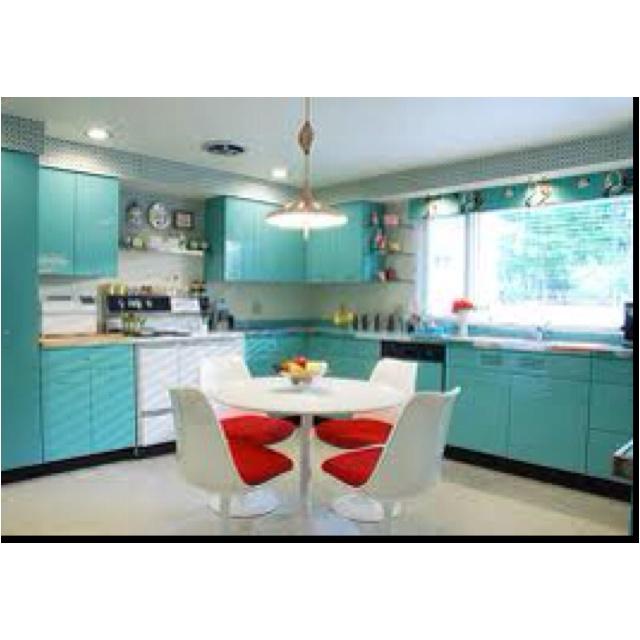 145 best retro & vintage kitchens images on pinterest