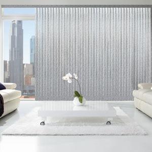 LevolorR Fabric Vertical Blinds Room Decorating IdeasModern LivingWindow