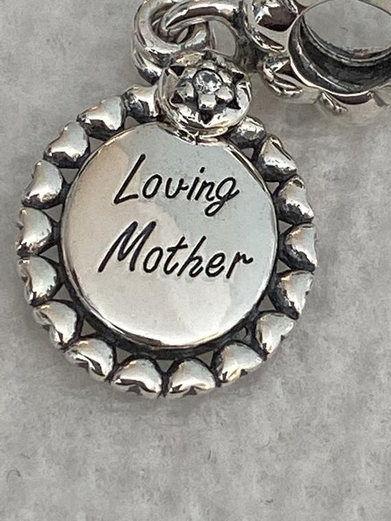 Pandora Charms Loving Mother Charm Mom Charms Family Etsy In 2021 Mom Charm Pandora Charms Pandora